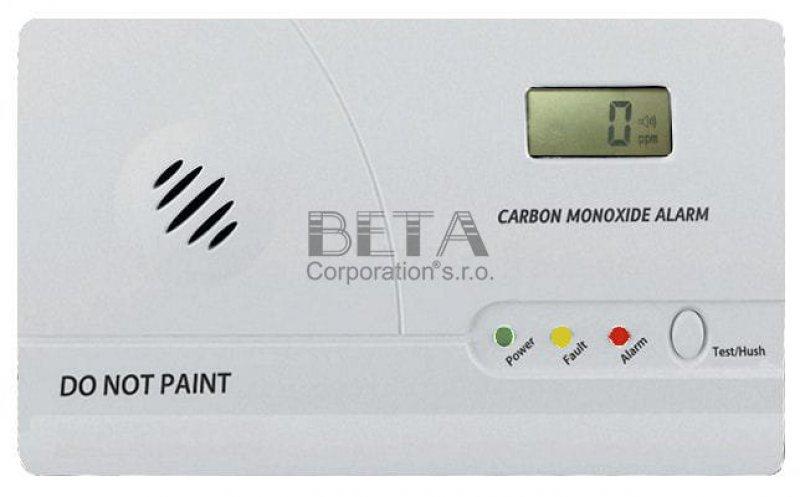 Detektory CO (oxid uhelnatý)