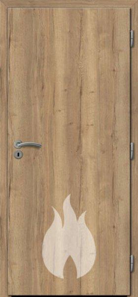 Dřevěné protipožární dveře