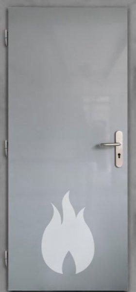 Ocelové protipožární dveře