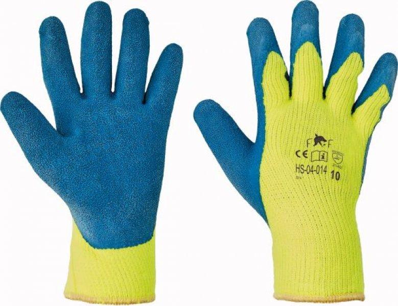 Pracovní a ochranné rukavice - tepelná rizika