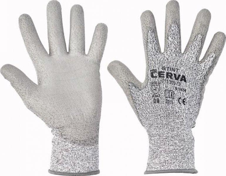 Pracovní ochranné rukavice proti mechanickým rizikům