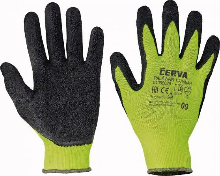Getauchte und mechanische Handschuhe