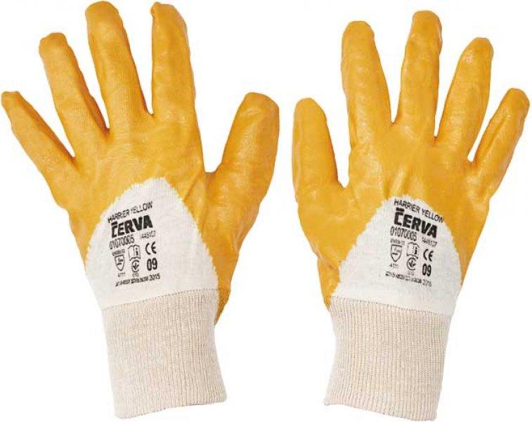 Pracovné a ochranné rukavice - mechanické riziká - extrémna záťaž