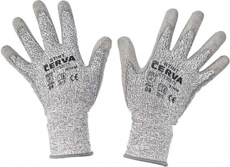Pracovné a ochranné rukavice - proti prepichu alebo prerezaniu