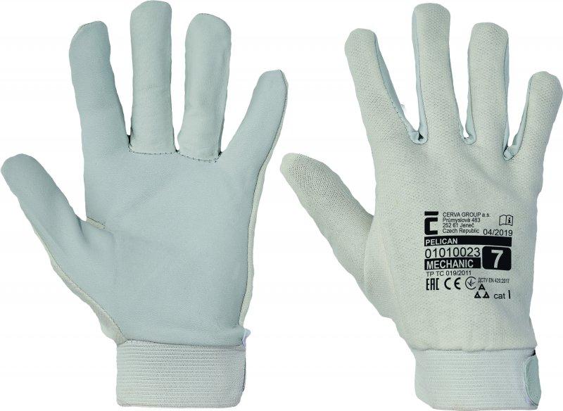 Pracovné a ochranné rukavice - mechanické riziká