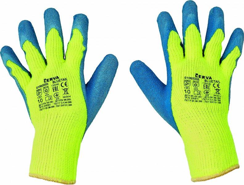 Pracovné a ochranné rukavice - tepelné riziká
