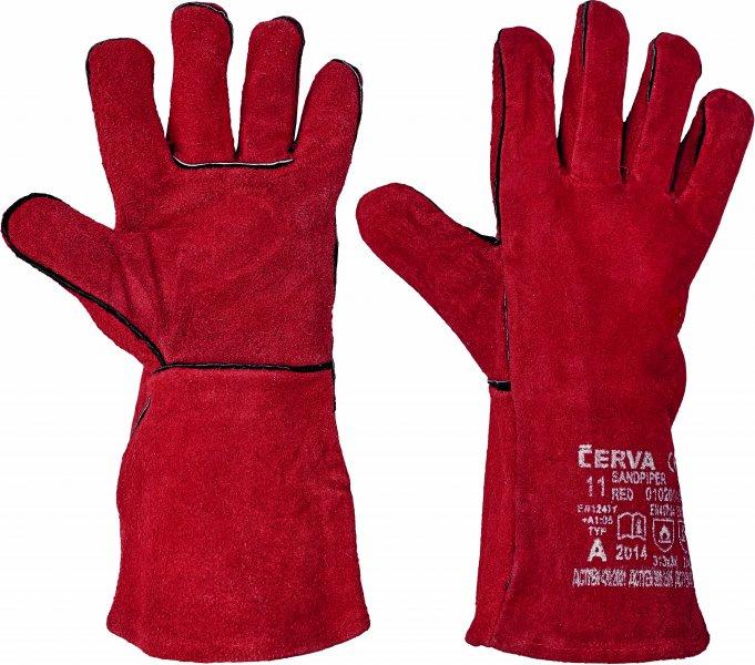 Pracovné a ochranné rukavice - zváračské