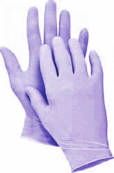 Jednorázové rukavice - vitrilové