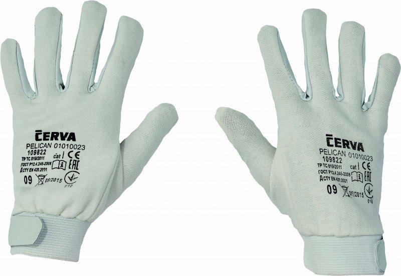 Pracovní a ochranné rukavice - neprořezné a proti propichu