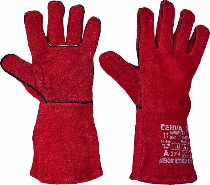 Pracovní a ochranné rukavice - svářečské