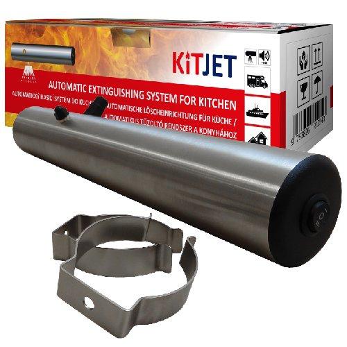 Bezúdržbové automatické hasicí zařízení KitJet se zabudovaným detekčním systém, které je určeno především do kuchyní