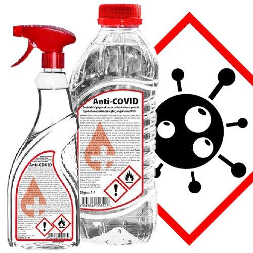 Účinná dezinfekce na ruce i povrchy. Ničí bakterie, plísně, viry včetně COVID-19 (coronavirus). V nabídce s rozprašovačem i v 25 l barelu. Chraňte své blízké a objednávejte z domova. Doručíme až k Vám domů.