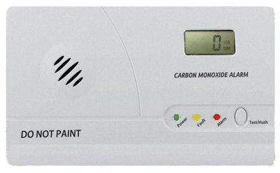 CO-Alarmmelder mit LCD-Display