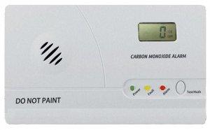 Detektor CO s LCD displejem a alarmem