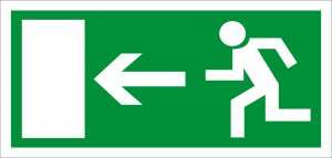 Rettungsweg Links