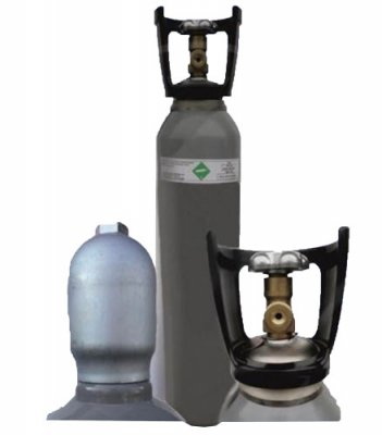 CO2 Gasflaschen 5 kg - Druckbehälter mit CO2