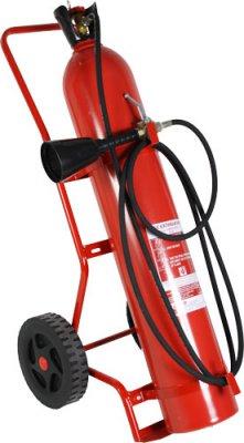 CO220000 pojízdný hasicí přístroj sněhový 20 kg