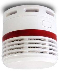 Požární hlásič a minidetektor kouře
