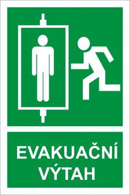 evakuačný výťah