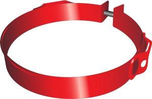 BETA / ČERVINKA objímka so závesným okom pre hasiaci prístroj