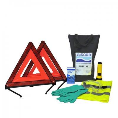Havarijná súprava ADR - bez sorbentov kvapalín