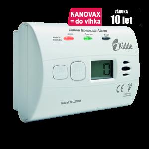Detektor CO odolný proti vlhkosti