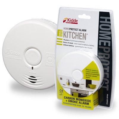 Kombinovaný hlásič požáru a CO do kuchyně