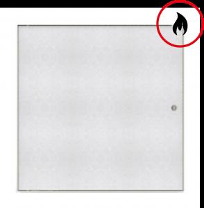 Brandschutz-Inspektionstür für Gipskarton - EI45/EW90