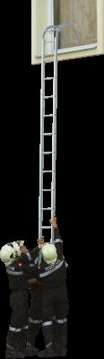Požiarny hákový rebrík typ B