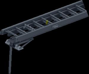 JUST Typ GT-100 - Zvedák pro požární žebříky bez stabilizační tyče