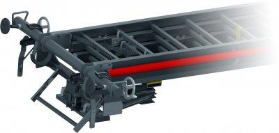 JUST Typ GT-200 - Zvedák pro požární žebříky se stabilizační tyčí
