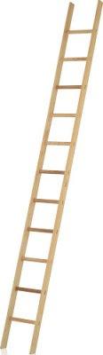 JUST Typ 31 dřevěný opěrný žebřík
