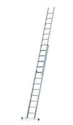 Hliníkový výsuvný rebrík - 2 dielny