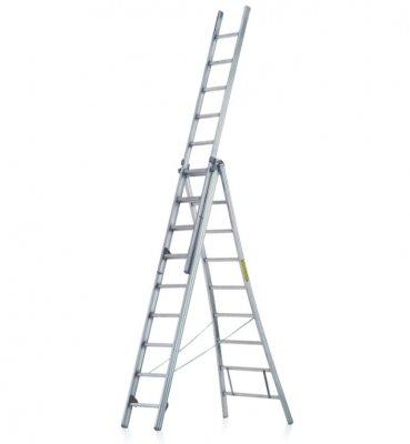 JUST Typ R-500 odolní multifunkční žebřík 3 - dílný
