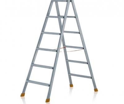 Rebrík s plochými priečkami