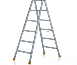JUST Typ 58-100 STEP štafle s plochými příčlemi