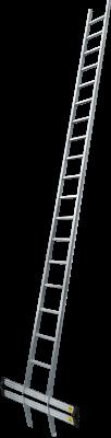 Hliníkový opěrný žebřík