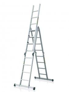 Hliníkový rebrík skladací