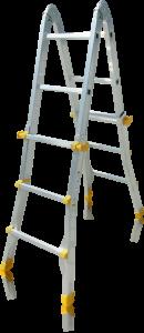Kloubový multifunkční žebřík JUST Typ 75-200