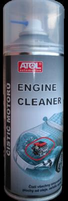 Čistič motorů Atol 400 ml