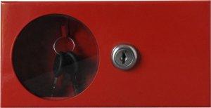 Schránka na klíče - pro instalaci na šířku