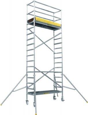 JUST typ 46 úzke mobilné lešenie - dĺžka plošiny 2,45 m