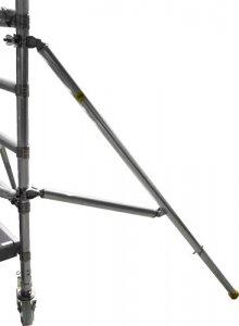 JUST trojúhelníková stabilizační podpěra pro lešení - boční