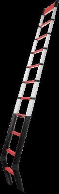JUST Typ 75-413 TELESTEPS teleskopický požární žebřík