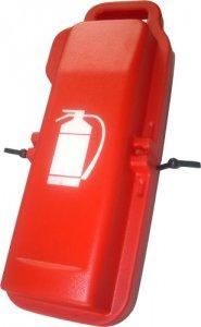 Kunststoff  Feuerlöscher-Schutzkasten 1 / 2 kg