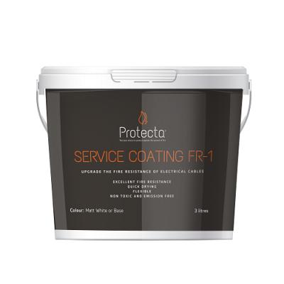 Protecta Service Coating FR-1 protipožiarny náter pre kabeláž 3 l
