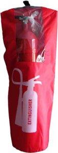 Textilní obal na přenosný hasicí přístroj 9 kg / 9 l / 5 kg CO2