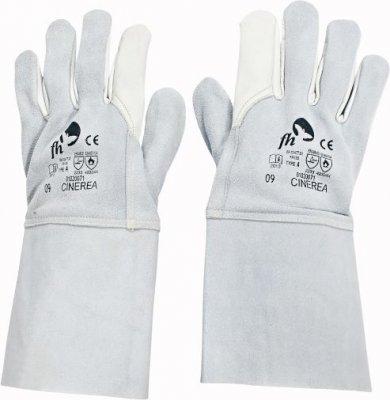 Červa CINEREA svářečské pracovní a ochranné rukavice - hovězí kůže - balení 2 párů