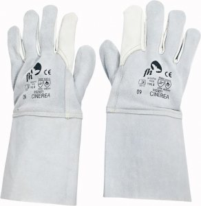 Červa CINEREA svářečské pracovní a ochranné rukavice - hovězí kůže - balení 12 párů