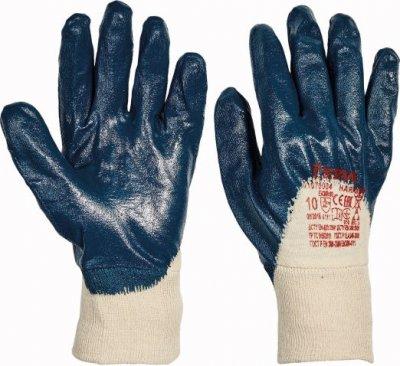 Červa HARRIER pracovní a ochranné rukavice - bavlna máčená v nitrilu